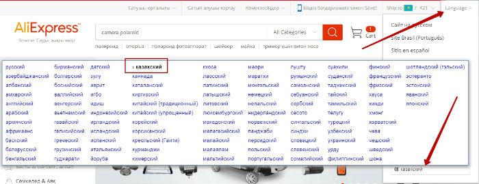 Как заказать с алиэкспресс в Казахстан, цены каталога в тенге