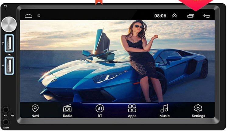 Автомагнитола для автомобиля SWM Android 8,1 2 din