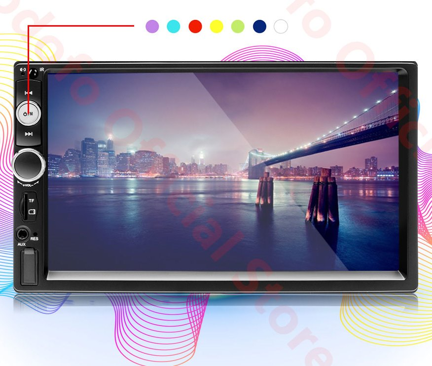 Магнитола Podofo 2din Android