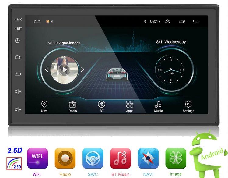 Магнитола Hikity Android 2Din с алиэкспресс