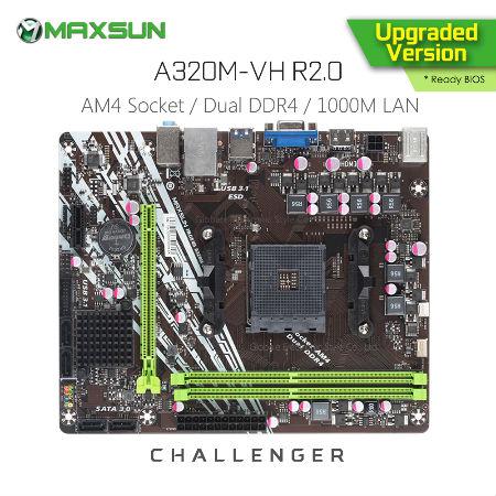 Материнская плата MAXSUN Challenger с алиэкспресс - обзор
