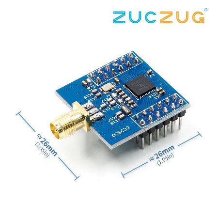 Обзор плат с алиэкспресс - UART CC2530 Zigbee