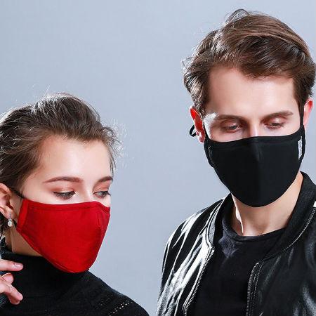 Хлопковая противовоспалительная маска для рта PM2.5