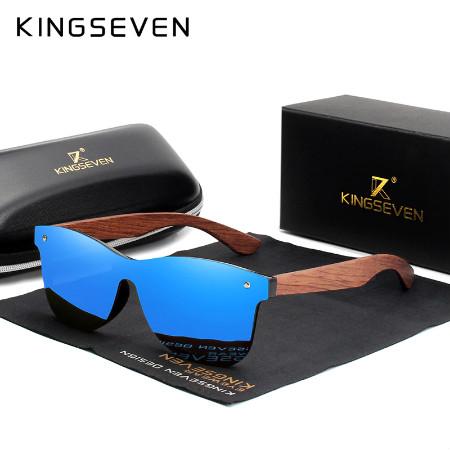 Солнечные очки с али из дерева KINGSEVEN