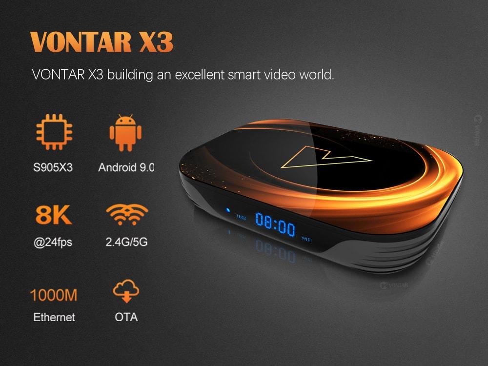 Смарт-приставка VONTAR X3