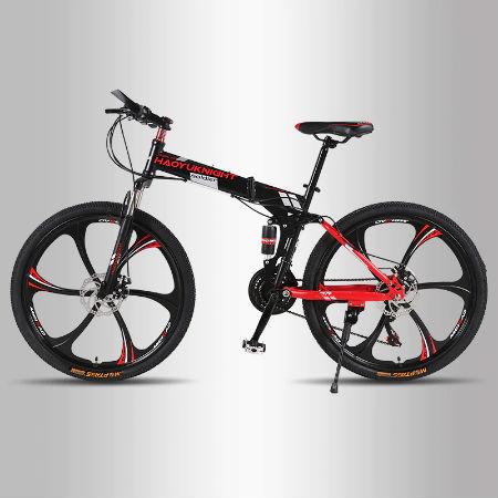 Горный велосипед на дисковых колесах с алиэкспресс