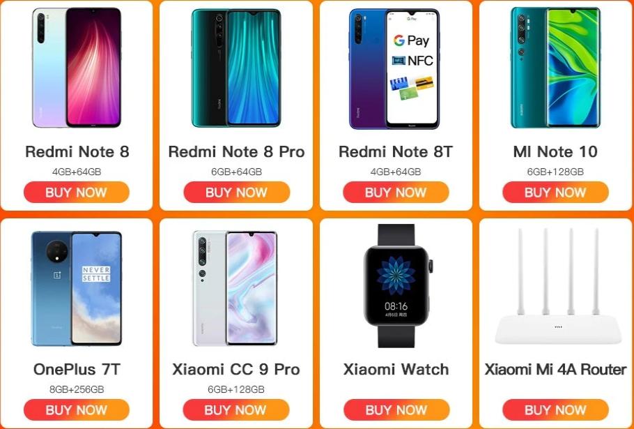Цвета Xiaomi Redmi Note 8 Pro