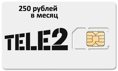 сим-карта теле2 с Алиэкспресс