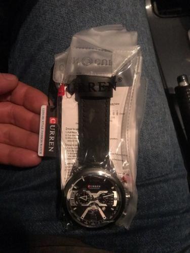 наручные часы Curren с АлиЭкспресс отзывы