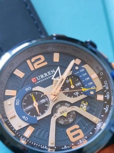 кварцевые часы Curren с АлиЭкспресс