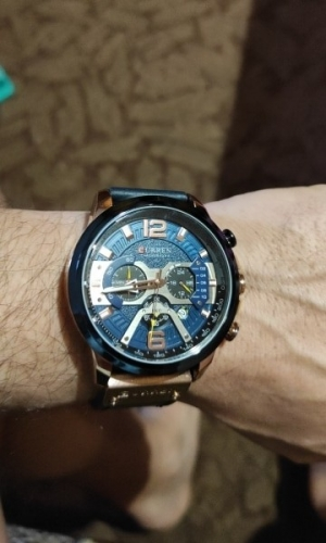 кварцевые часы Curren с АлиЭкспресс фото