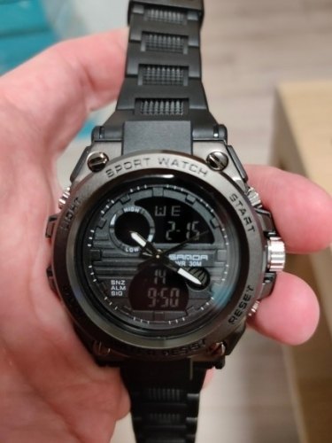 Часы sanda с алиэкспресс фото