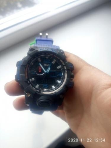 кварцевые мужские часы smael с алиэкспресс