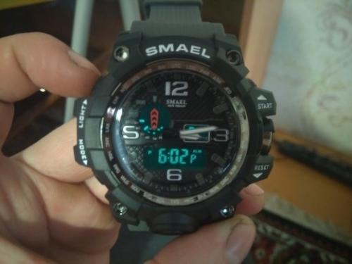 кварцевые мужские часы smael с алиэкспресс отзывы