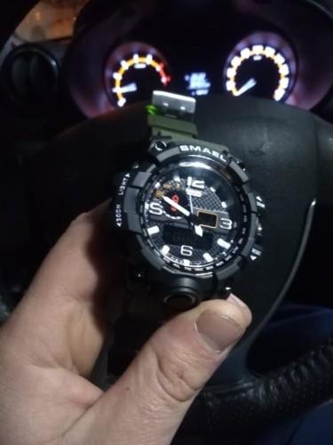 наручные мужские часы smael с алиэкспресс
